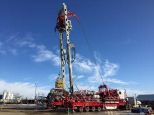 Schlumberger mast CTUs at the tests